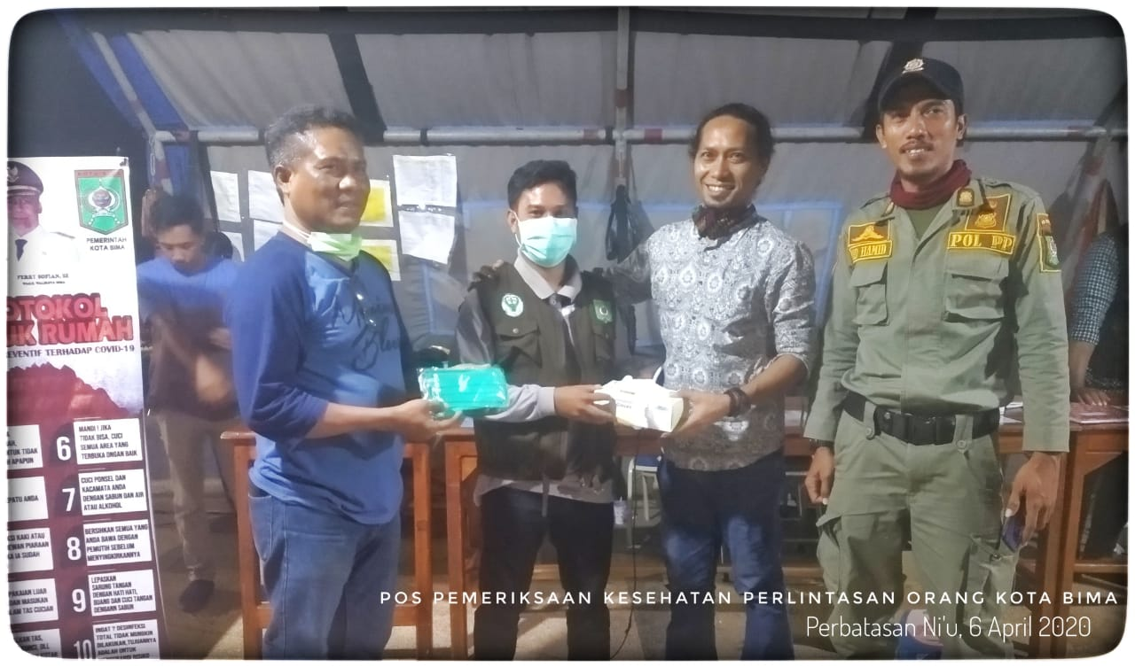 Lengkapi Kekurangan Tim Garda Terdepan Covid-19, BCC Bantu Salurkan Ribuan Masker