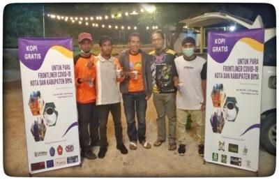 Gerakan Kopi Gratis dari Babuju, Semangati Para Frontline di Posko Pemeriksaan