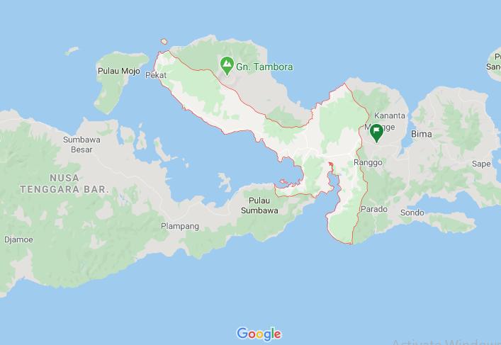 Daftar kecamatan dan kelurahan di Kabupaten Dompu