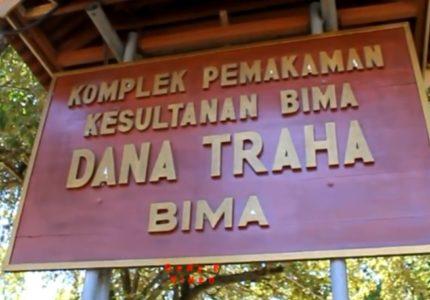 Komplek Pemakaman Kesultanan Bima Dana Traha Kota Bima NTB