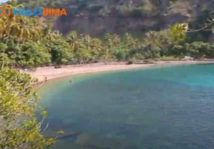 Pantai Oi Fanda dengan Nuansa Alami Kebun Kelapa dan pesona Terumbu Karangnya yang cantik di Ambalawi Bima NTB