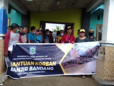 Solidaritas Desa Manggeasi untuk Korban Banjir di Desa Daha Kabupaten Dompu